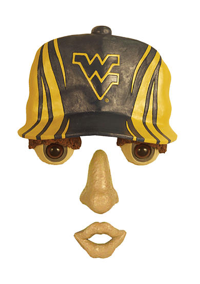 West Virginia Mountaineers Tree Face