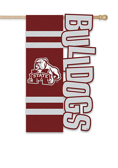 Mississippi State Bulldogs Large House Flag