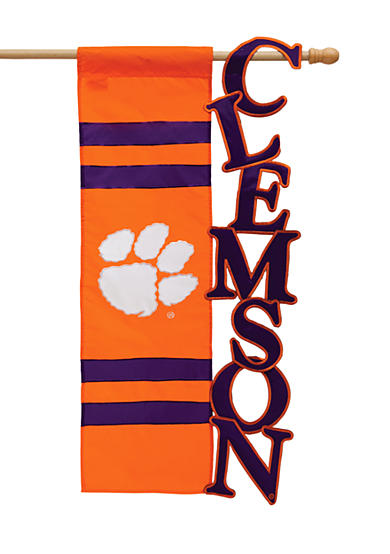 Evergreen Clemson Tigers Small Flag
