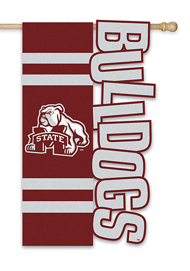 Evergreen Mississippi State Bulldogs Small Flag
