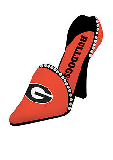 Evergreen Georgia Bulldogs Shoe Wine Holder