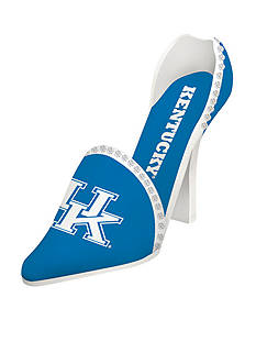 Evergreen Kentucky Wildcats Shoe Wine Holder