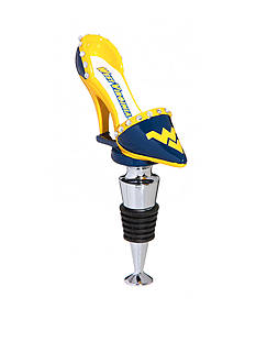 Evergreen West Virginia Mountaineer Shoe Wine Stopper