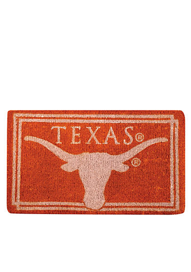 Evergreen Texas Longhorns Coir Mat
