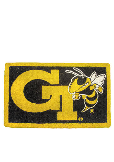 Evergreen Georgia Tech Yellow Jackets Coir Mat