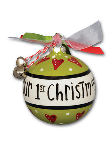 Magnolia Lane 3.5-in. 'Our 1st Christmas' Ornament