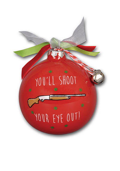 Magnolia Lane 3.5-in. 'You'll Shoot Your Eye Out!' Ornament