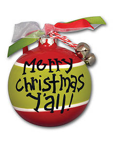 Magnolia Lane 3.5-in. 'Merry Christmas Y'all!' Ornament