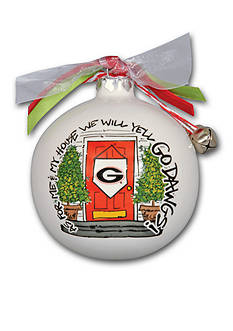 Magnolia Lane 3.5-in. University of Georgia My House Ball Ornament