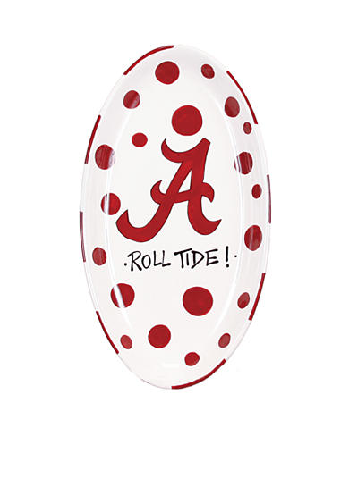 Alabama Crimson Tide Oval Tray