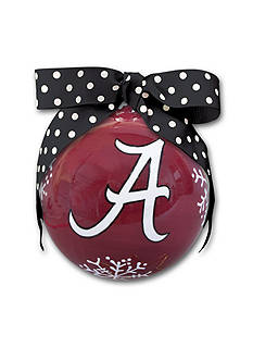 Magnolia Lane 4-in. University of Alabama Snowflake Ball Ornament