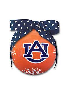 Magnolia Lane 4-in. Auburn University Snowflake Ball Ornament