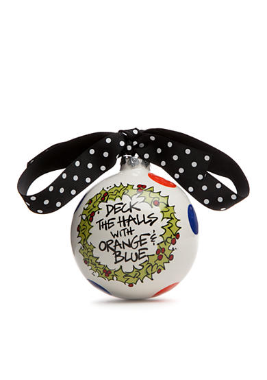 Magnolia Lane 4-in. University of Florida 'Deck the Halls' Ball Ornament