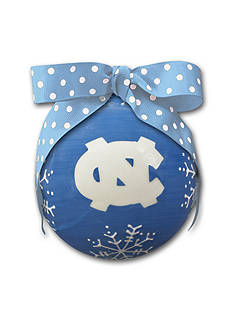 Magnolia Lane 4-in. University of North Carolina Snowflake Ball Ornament