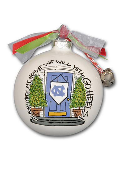Magnolia Lane 3.5-in. University of North Carolina My House Ball Ornament