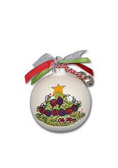 Magnolia Lane 3.5-in. Ole Miss Christmas Tree Ornament