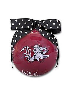 Magnolia Lane 4-in. University of South Carolina Snowflake Ball Ornament