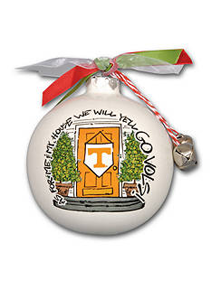 Magnolia Lane 3.5-in. University of Tennessee My House Ball Ornament