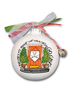 Magnolia Lane 3.5-in. University of Virginia My House Ornament