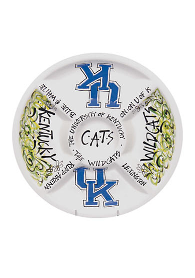 Kentucky Wildcats Divided Veggie Plate