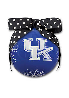 Magnolia Lane 4-in. University of Kentucky Snowflake Ball Ornament