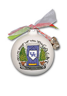 Magnolia Lane 3.5-in. University of Kentucky My House Ball Ornament