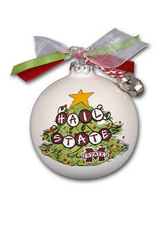 Magnolia Lane 3.5-in Mississippi State University Christmas Tree Ornament