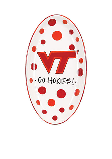 Virginia Tech  Hokies Oval Tray