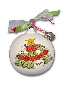 Magnolia Lane 3.5-in Virginia Tech Christmas Tree Ornament