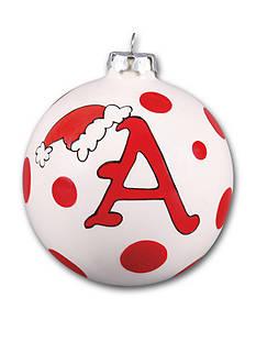 Magnolia Lane 4-in. University of Arkansas Polka Dot Ornament
