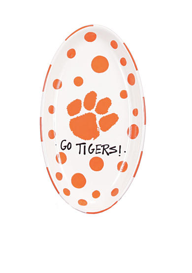 Clemson Tigers Oval Tray