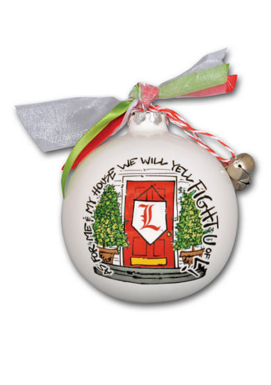 Magnolia Lane 3.5-in. University of Louisville My House Ornament