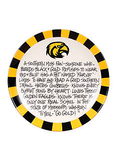 Magnolia Lane Southern Miss Golden Eagles Definition Plate