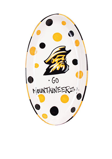 Appalachian State Mountaineers Oval Tray