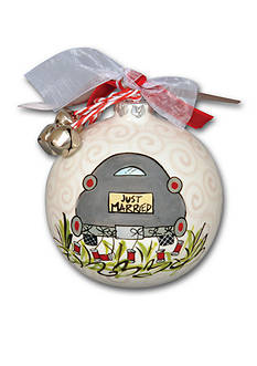 Magnolia Lane 3.5-in. 'Just Married' Ornament