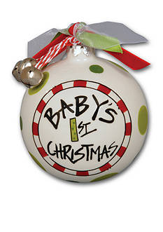 Magnolia Lane 3.5-in. Baby's 1st Christmas Ornament