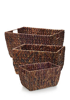 Elements Water Hyacinth Basket