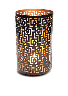 Elements Large Black Greek Luminary