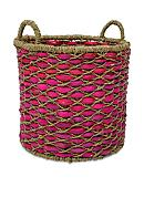 Elements 15-in. Water Hyacinth Oval Basket