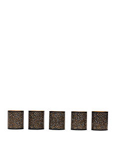 Elements 5-Pack Mesh Votive Holder