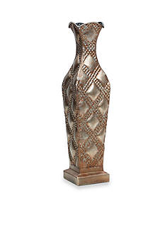 Elements 24-in. Embossed Quilted Vase