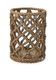 Elements 8-in. Natural Rope Candle Holder
