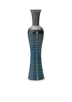 Elements 17.3-in. Fade Hourglass Vase