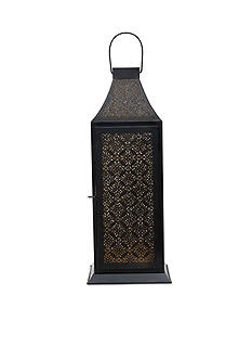 Elements Diamond Cutout Lantern