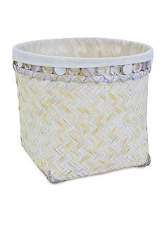 Elements 13-in. Bamboo Basket
