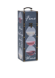 Elements 14-in. 'Fine Wine' Wine Box