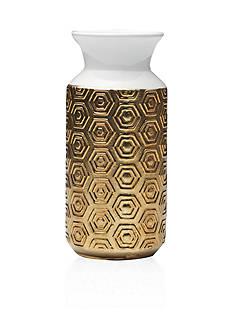 Bombay 11-in. Geo Ceramic Vase