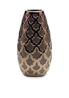 Elements 10-in. Geo Ceramic Vase