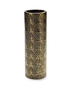 Elements 14-in. Geo Ceramic Cylinder Vase