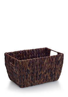 Elements 13-in. Water Hyacinth Basket